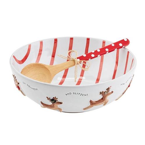 #10688 Reindeer Serving Bowl Set