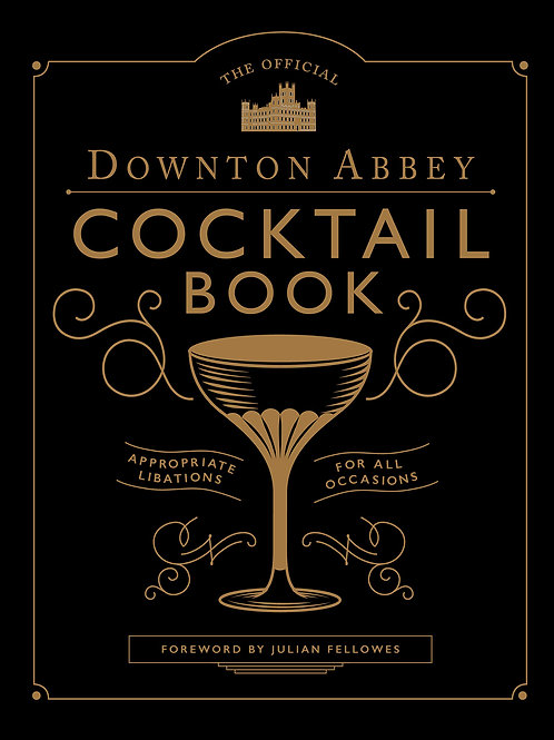 #10709 Downton Abbey Cocktail Book