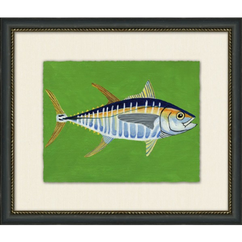 #11039 Yellow Fin Tuna (Green background)