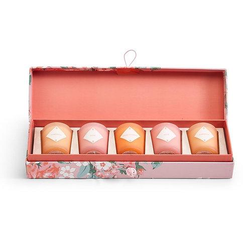 #11548 Fleurette Candle Set