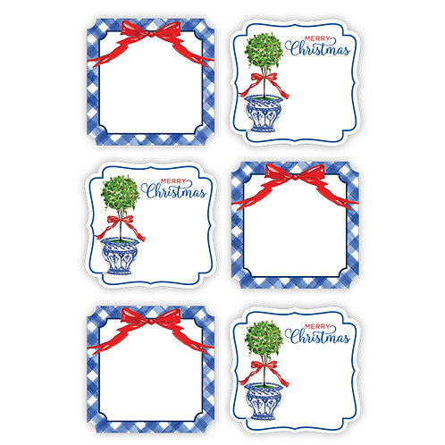 #10152 Holiday Die Cut Stickers