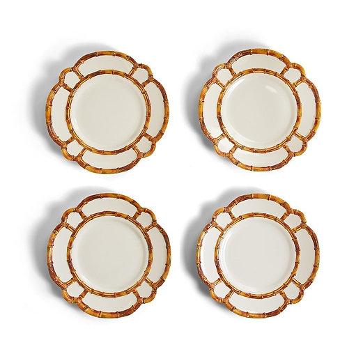 #11558 Bamboo Dinner Plates