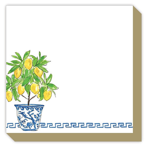 #11106 Mini Luxe Lemon Topiary Notepad