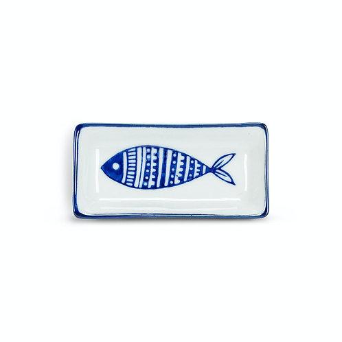 #10097 Blue Fish Mini Tray
