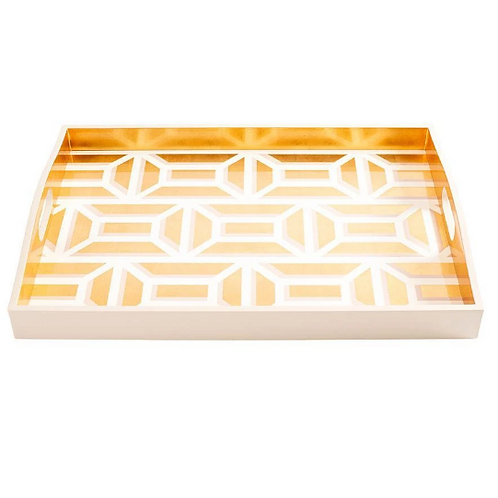 #11697 Modern Gate Lacquer Tray