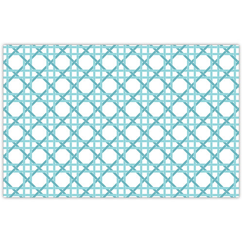 #11785 Teal Weave Placemats