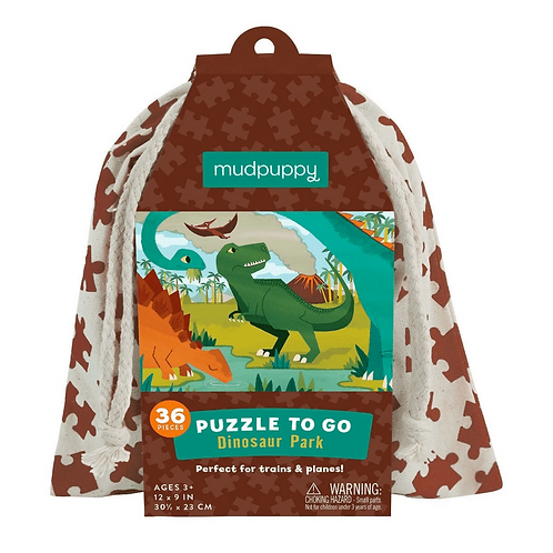#7485 Dinosaur ParkPuzzle to Go