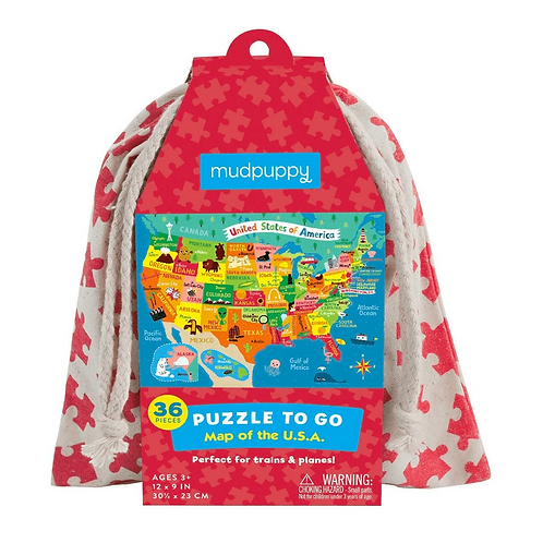 #9837 Map of the USA Puzzle to Go