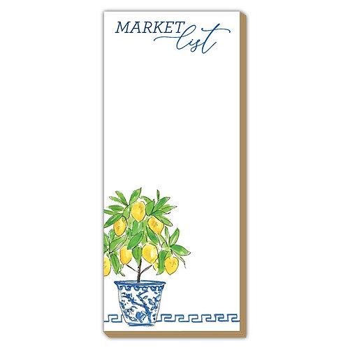 #11105 Market List Skinny Pad