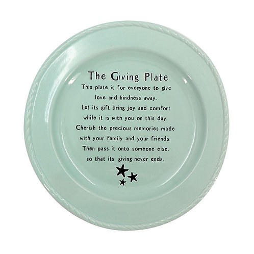 #9903 The Giving Plate