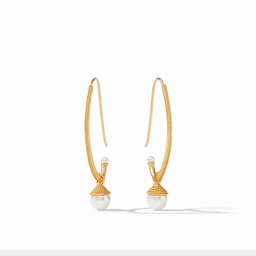 #11957 Windsor Pearl Statement Earring