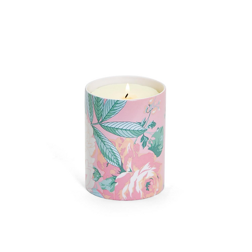 #11568 Floral Scented Candle