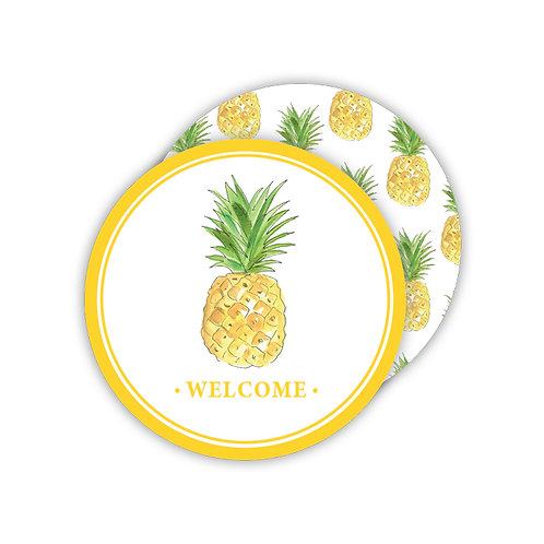 #11777 Welcome Pineapple Coasters