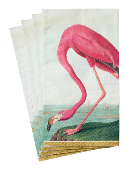 #5459 Guest Towel Napkin (Audubon Birds)