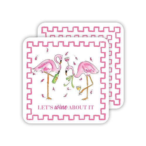 #11764 Flamingo and Fizzy Coasters