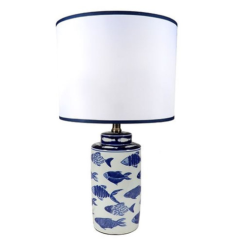 #9905 Fish Table Lamp
