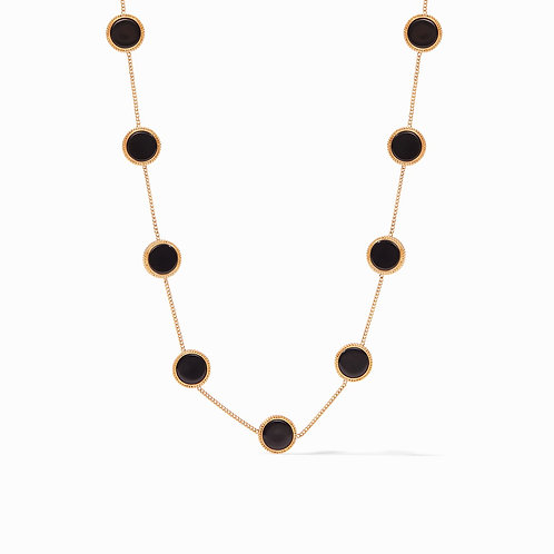#8550 Coin Demi Station Necklace