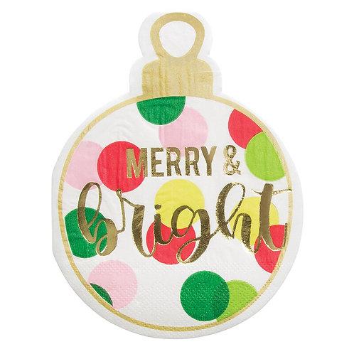 #11801 Merry Bright Napkin