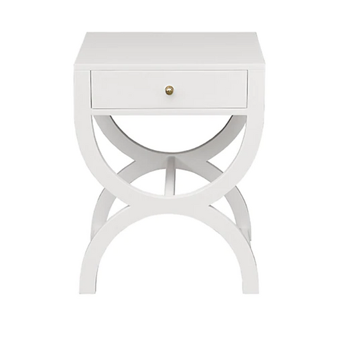 #7248 One Drawer Side Table