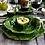 Thumbnail: #8231 Foglia Stone Cheese/Tart Plate