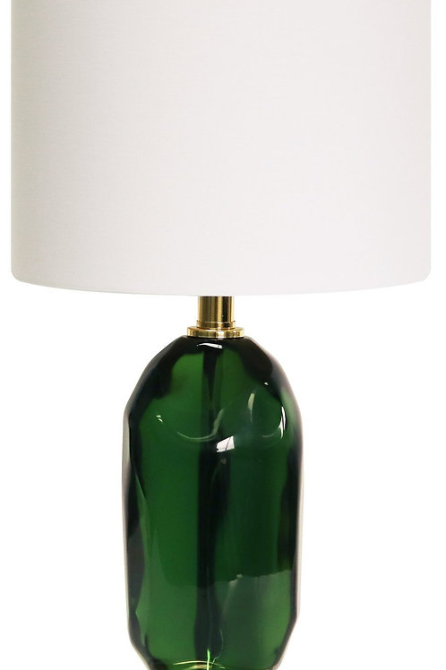 #8733 Emerald Table Lamp