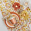 Thumbnail: #11056 Blossom Tealight Holder (Buttercup)