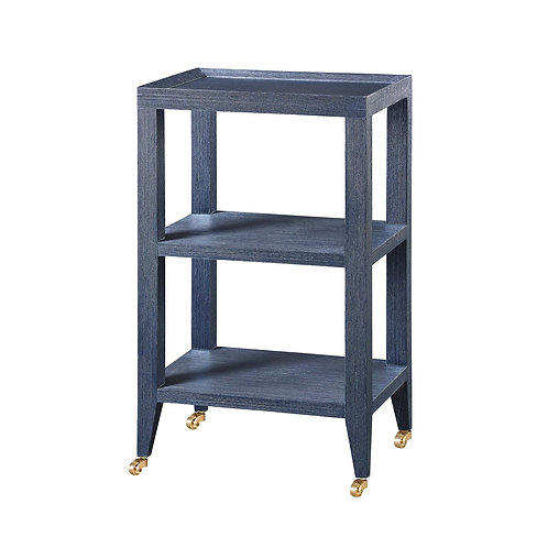 #11983 Tiered Side Table on Castors
