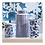 Thumbnail: #10486 Small Blue & White Dot Jar