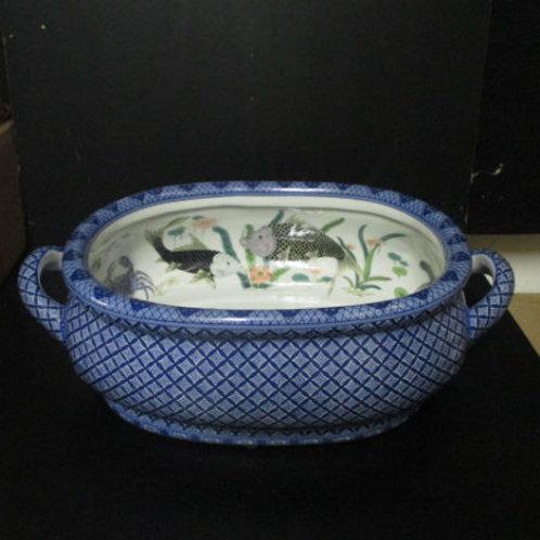 #4196 Sealife Porcelain Footbath