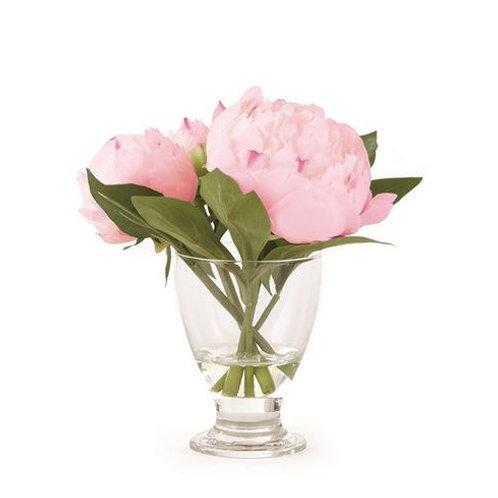 #7103 Peony Arrangement in Vase