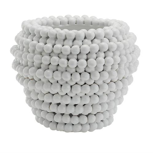 #7156 Pom Pom Vase