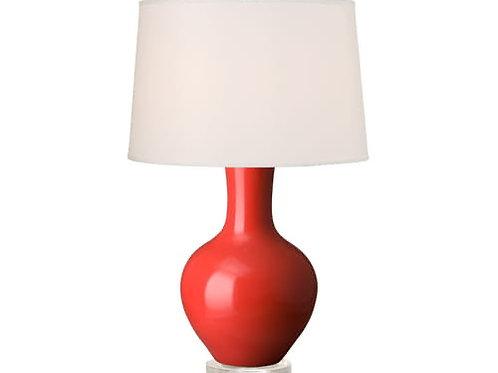 #8370 Persimmon Bulb Lamp