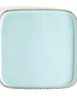 #5759 Enameled Tray with Border