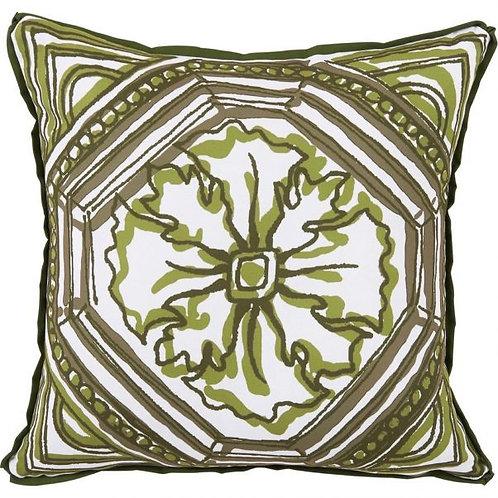 #10371 Tile Elm Reversible Outdoor Pillow
