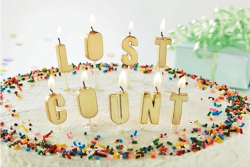 #9928 Lost Count Party Candles