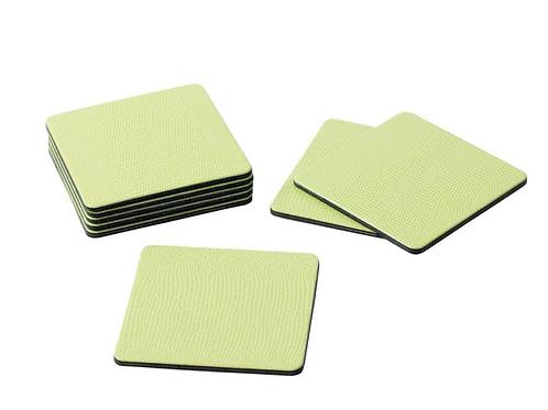 #11692 Lizard Coasters (Lime Green)
