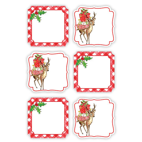 #10150 Holiday Die Cut Stickers