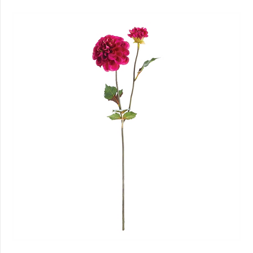 #10473 Dahlia Stems, Set of 3, Plum