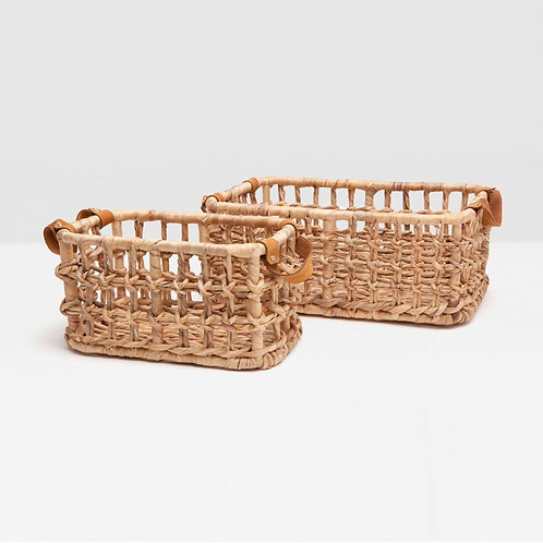 #10274 Natural Woven Basket