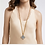 Thumbnail: #11936 Savoy Pendant Necklace (Clear Crystal)