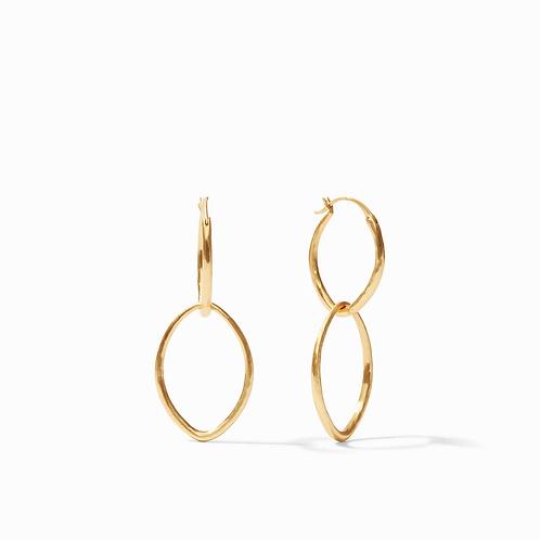 #10407 Fleur-de-Lis 2-in-1 Earring