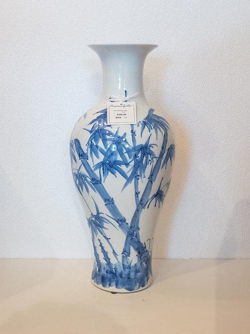 #11629 Blue Bamboo Vase