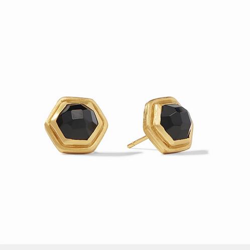 #11945 Palladio Stud (Obsidian Black)
