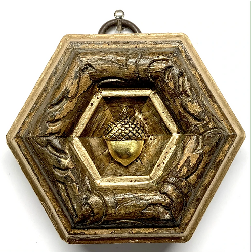 #11494 Wooden Frame w/ Acorn