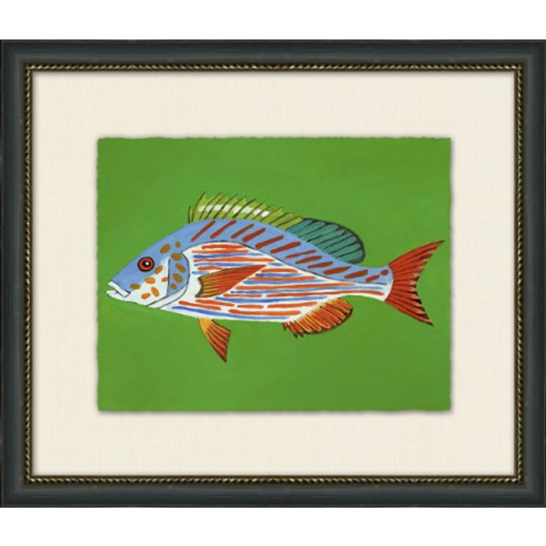 #11038 Pig Fish (Green)