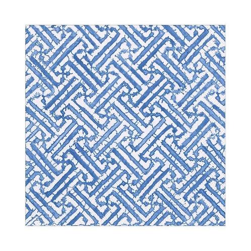 #11732 Luncheon Napkins (Fretwork Blue)
