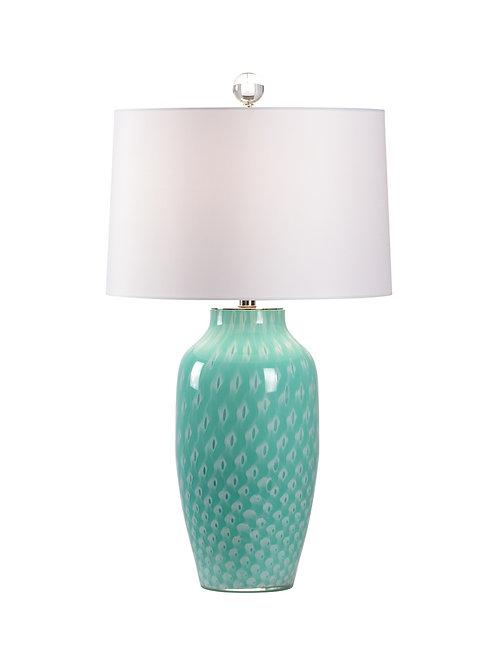 #11910 Italian Glass Lamp