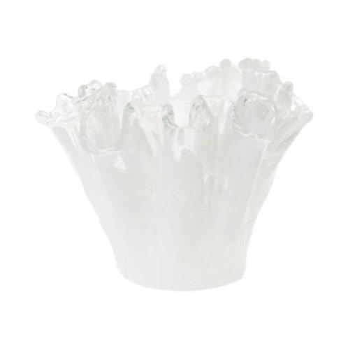 #8251 Glass Onda Organic Vase