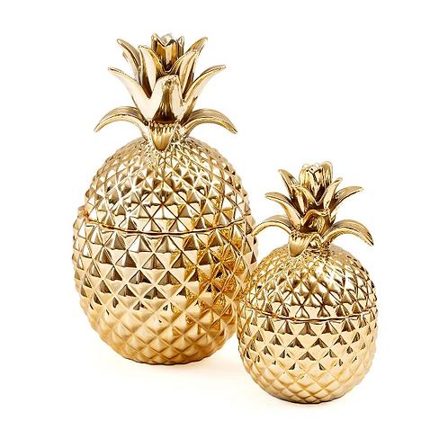 Gold Pineapple Jars
