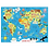 Thumbnail: #6347 Map of the World Puzzle to Go